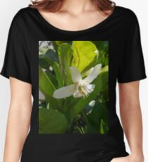 Orange Blossom Women's Relaxed Fit T-Shirt