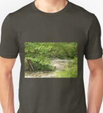 Unami Creek - Green Lane - Pennsylvania - USA Unisex T-Shirt
