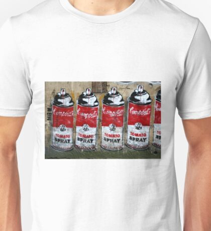 Campbells Tomato Spray - Banksy Unisex T-Shirt