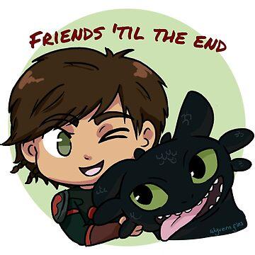 Friends 'til the end by Wyvern-fins