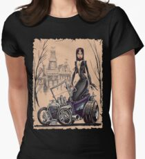 MORTICIA in a T-Bucket Women's Fitted T-Shirt