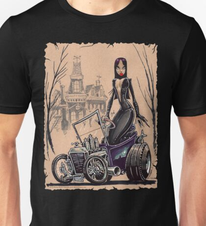 MORTICIA in a T-Bucket T-Shirt