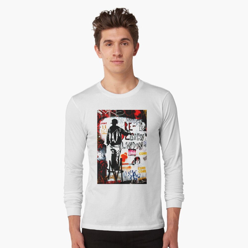 Redesign London - Banksy Long Sleeve T-Shirt