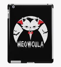 Meowcula Cat Lover Halloween iPad-Hülle & Klebefolie