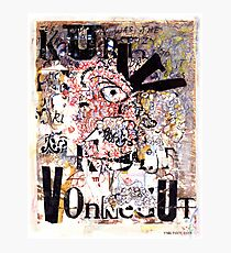 Kurt Vonnegut Portrait Photographic Print