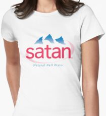 Satan - natural hell water Fitted T-Shirt
