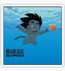 goku child / nirvana official Sticker