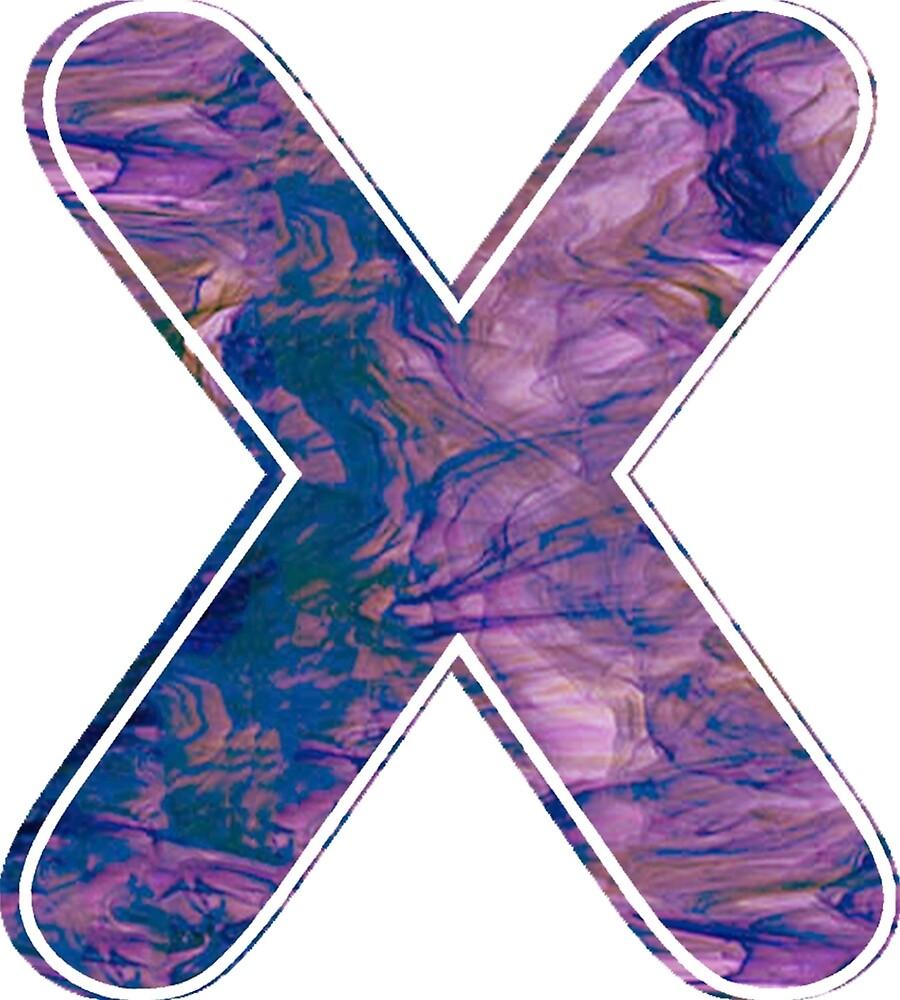X Purple Smoke Cross Out by ProjectMayhem