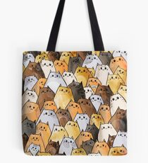 Gangs of Cat Cats Kitten Kitty Pattern Tote Bag