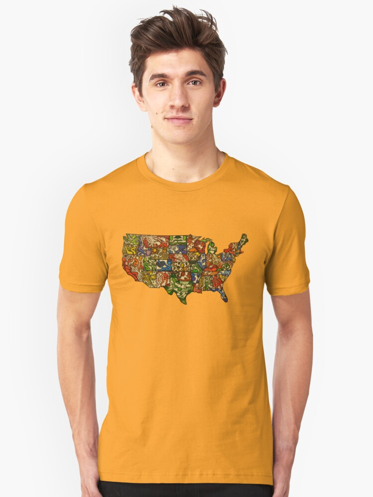 United States of Abstraction by Gouacheman