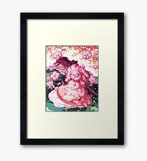 Rose and Lion Framed Print