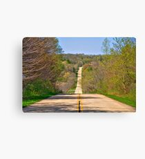 Country Drive Canvas Print