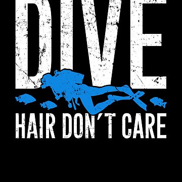 Dive hair don't care - Scuba diving by alexmichel