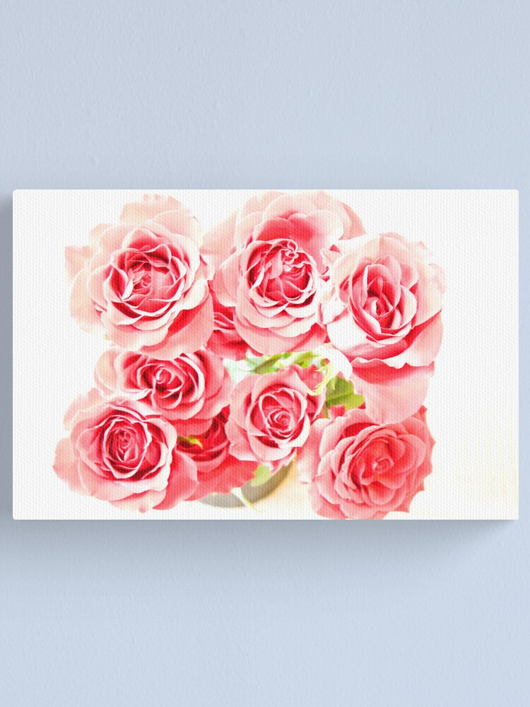 Alternate view of Rose Blooms Canvas Print