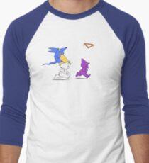 Triangle Toss Men's Baseball ¾ T-Shirt
