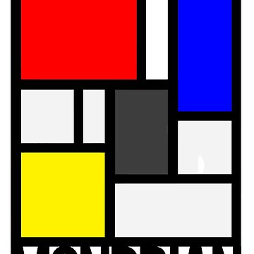 Mondrian by TeeShells