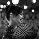 Japanese Girl with a Fan by MattVachonPhoto