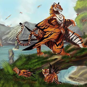 Winged tiger de Bertoni-Lee