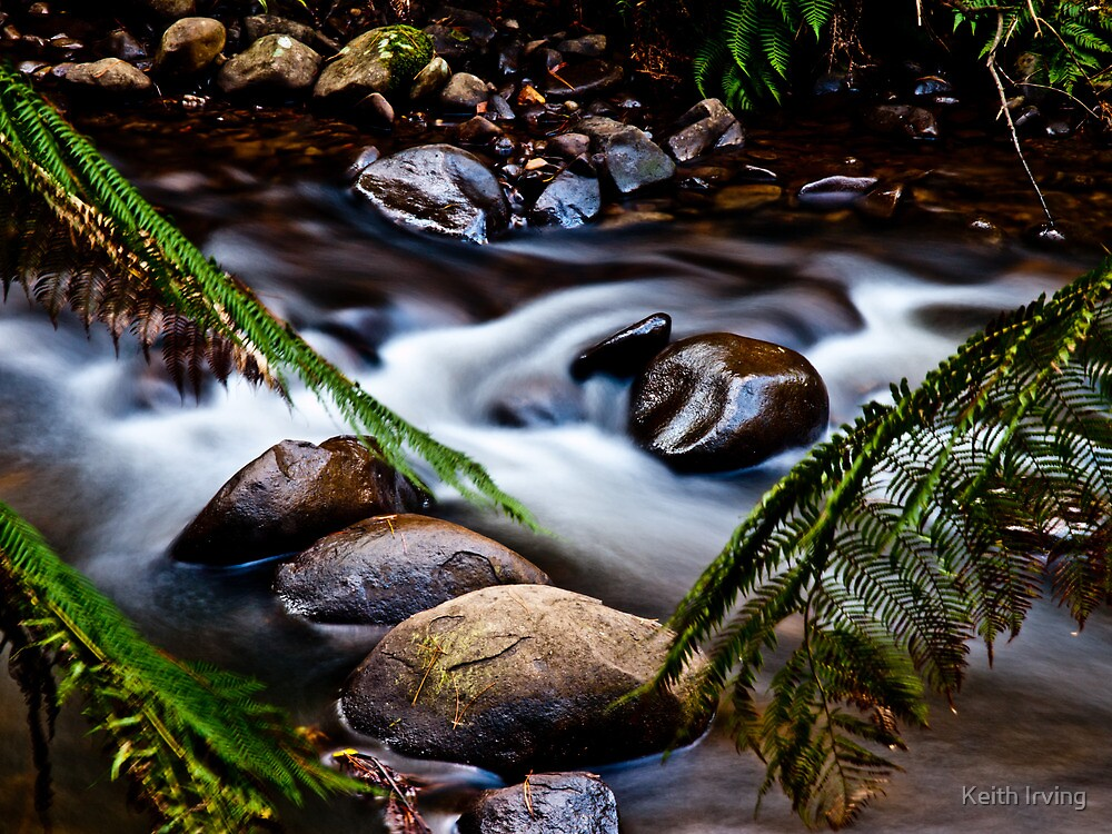 Flowing by Keith Irving