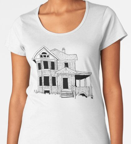 2019 01 24 building Women's Premium T-Shirt