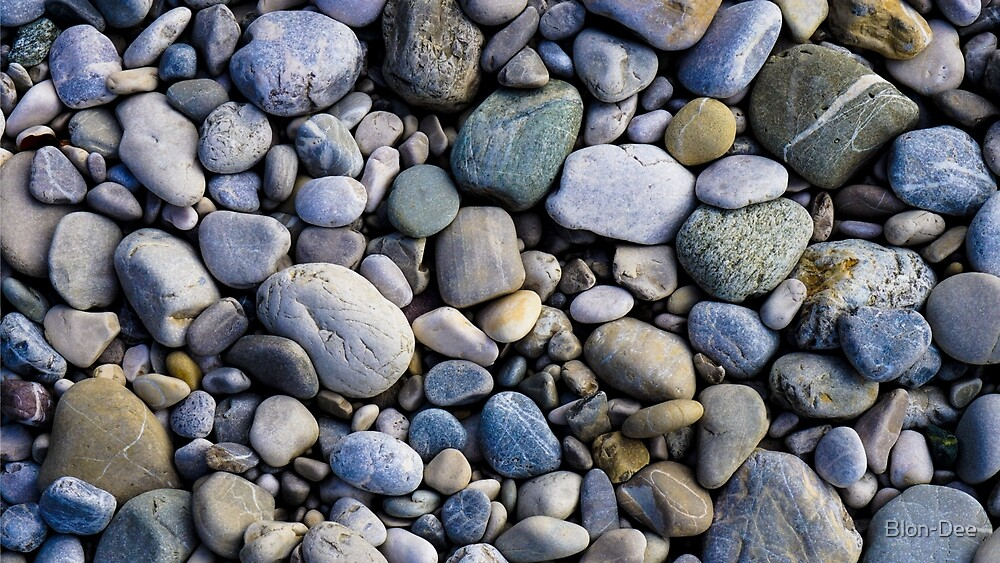 Stoned Pebbles by Blon-Dee