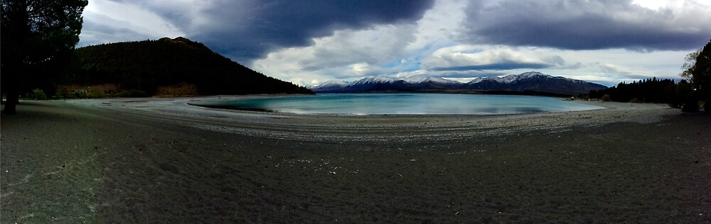 New Zealand South Island Lanke by Gheorghe Reichenbach