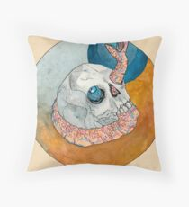 There Are Worms Throw Pillow