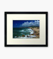 Guincho beach Framed Print