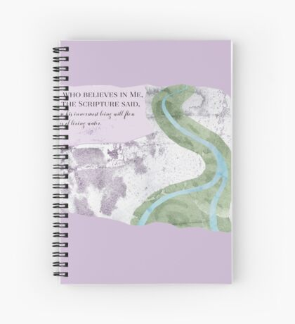 River of Life Spiral Notebook