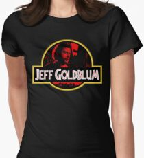 JURASSIC GOLDBLUM Womens Fitted T-Shirt