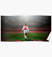 Johan Cruyff (Ajax Amsterdam) Poster