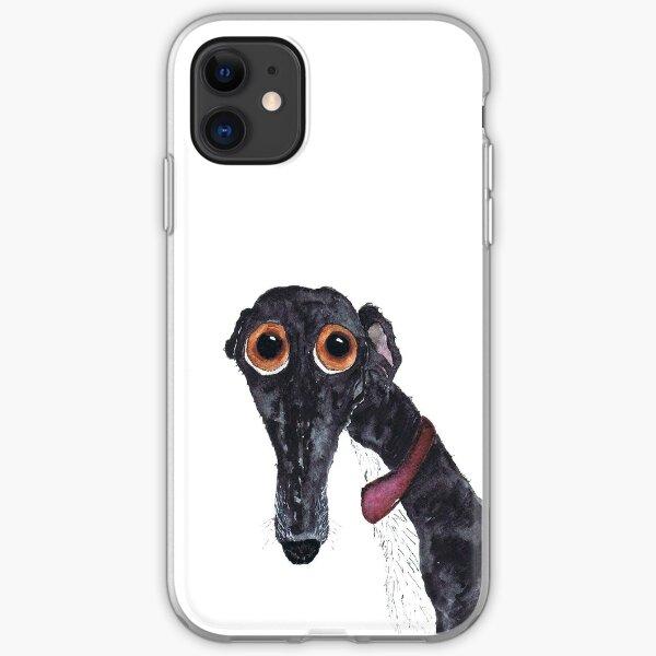 GREYHOUND - AKA 'The Silly Greyhound' g203 iPhone Soft Case
