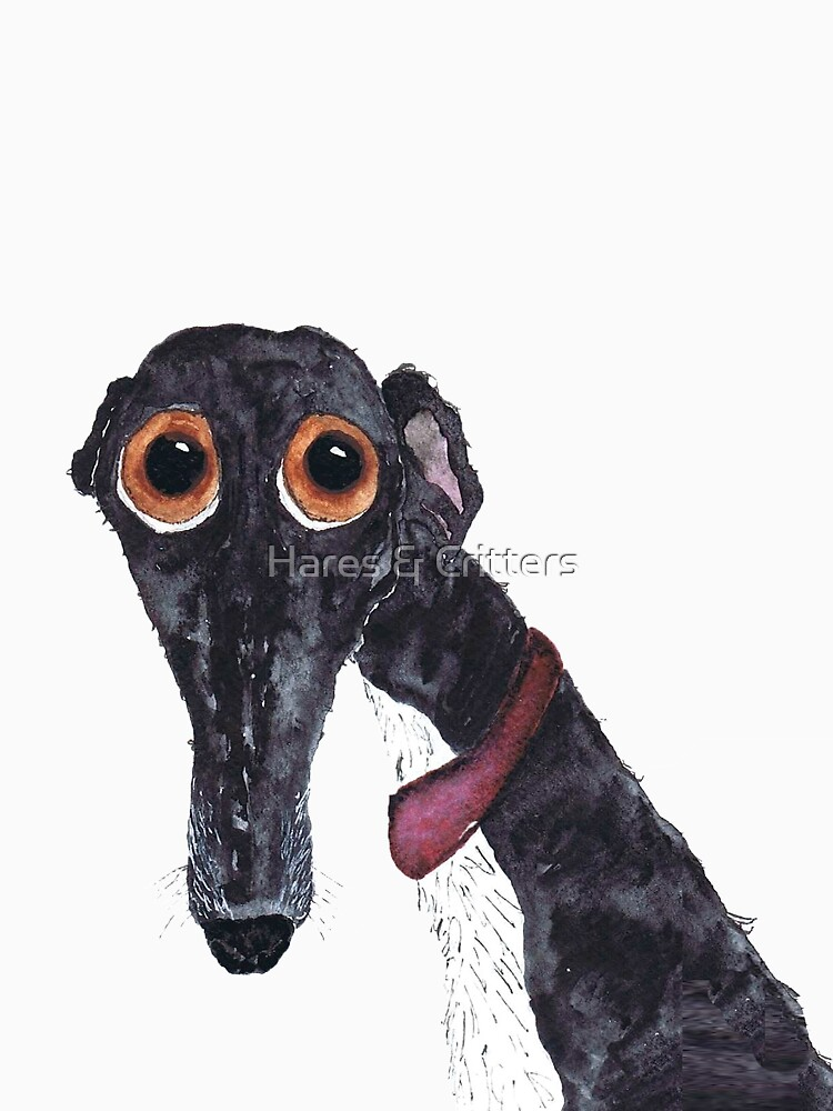 GREYHOUND - AKA 'The Silly Greyhound' g203 von dbarker