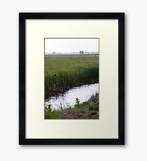 irrigation Framed Print
