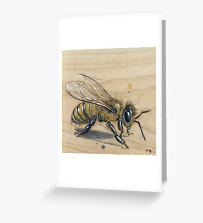 Bee #3 Greeting Card