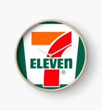 Sieben elf Logo Uhr