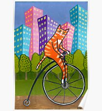 City Bike Ride Poster