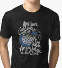 Little Can of Hate (Movie Dalek) Tri-blend T-Shirt