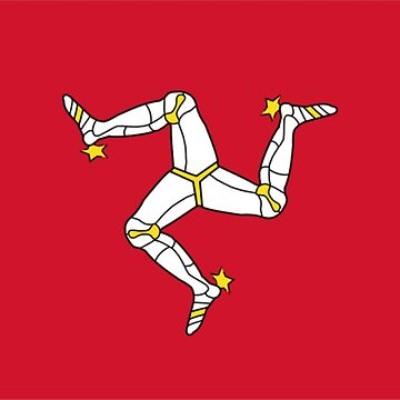 Isle of Man Flag and Triskellion by sweetsixty