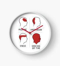 Dancing off time. Color edition.  Reloj