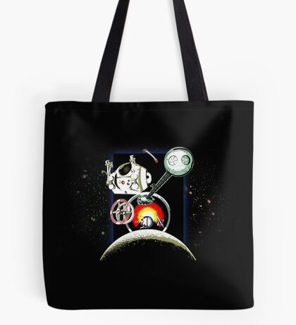 Odyssey Space 2001 Back Tote Bag