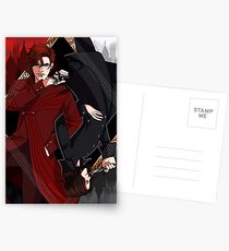 A Darker Shade of Magic Postcards