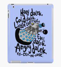 Skaro Dalek (Soft Kitty Parody) iPad Case/Skin
