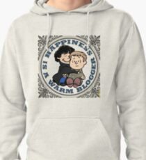 Happiness is a Warm Blogger Pullover Hoodie