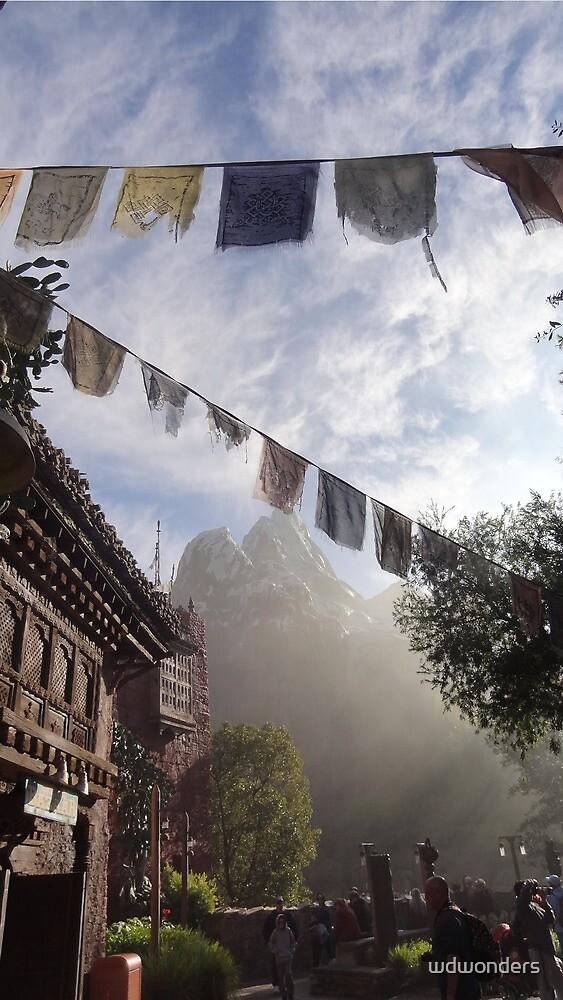 Misty Mount Everest by wdwonders