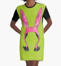 Louise Belcher  Graphic T-Shirt Dress