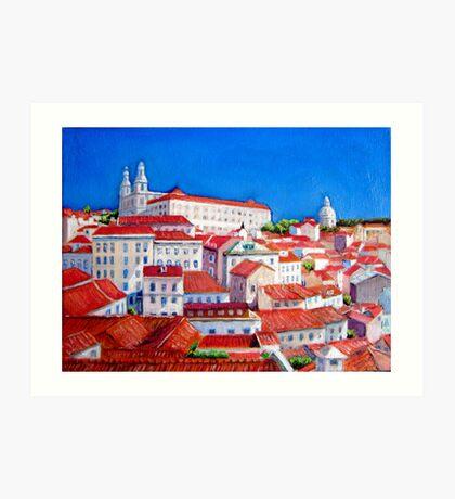 Lisbon 2010 Art Print
