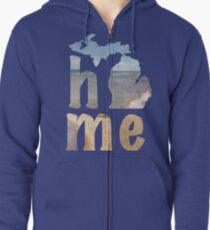 Michigan Home Zipped Hoodie