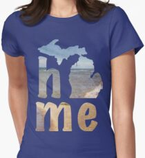 Michigan Home Women's Fitted T-Shirt