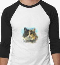 Purebred cat Men's Baseball ¾ T-Shirt